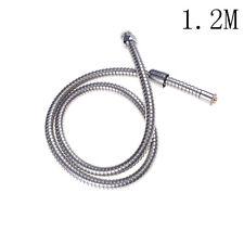 1.2M Shower Head Hose Handheld Stainless Steel Bathroom Flexible Tube