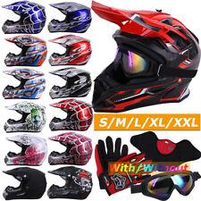 Dot Approved Motocross Helmet Atv Utv Mx Bmx Dirt Bike Off Road Off-Road Racing