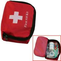 Portable Travel First Aid Kit Bag Outdoor Emergency Medical Survival Rescue-Box