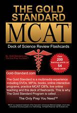 Gold Standard MCAT Sciences Review Flashcards: MCAT Exam Prep