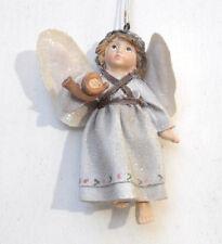 LES ALPES 006 4962 B-ANGELO IN RESINA-ALI MORBIDE-DA APPENDERE-MISURA CM. 10