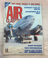 Douglas C-47S of Nato August 1985    Air Classics  Magazine  Airplane