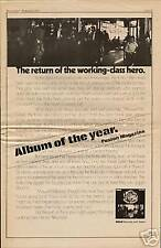 "1972 THE KINKS ""MUSWELL HILLBILLIES"" ALBUM PROMO AD"