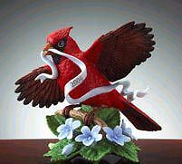 Lenox 2004 Annual Cardinal Bird Limited Edition sculpture New in Box with Coa