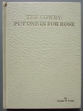 1986 The Cowry by Donald W. Poteat- Summerville, SC- Signed 1st Edition!