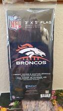 NFL Officially Licensed Denver Broncos 3' x 5' Flag BRAND NEW 3x5