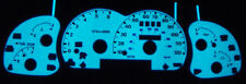1998-2001 Ford Explorer / Ranger W/ Tach Glow Gauge Face Overlay