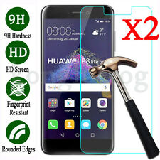 2Pcs 9H+ Premium Tempered Glass Screen Protector Film For Huawei P8 Lite 2017
