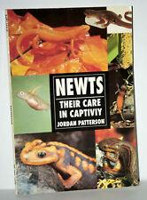 Newts Their Care in Captivity TRITONI SALAMANDRE MANUALE USATO INGLESE KJ1 56359