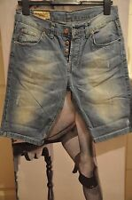 "MEN SKINNY DESTROYED FADED  JEANS/CAPRI/SHORTS ""BURBERRY ""STRETCH  EU -46 SIZE"