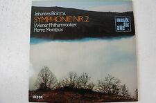 Brahms Sinfonie 2 Wiener Philharmoniker Pierre Monteux DECCA (LP13)