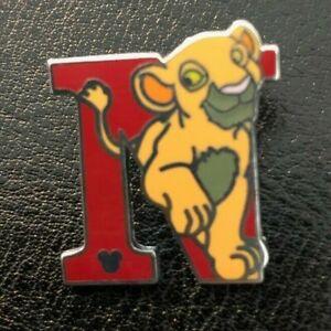 2008 Disney Hidden Mickey Alphabet Letter T Timothy Pin