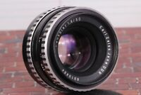 PANCOLAR Carl Zeiss Jena 1.8/50mm Lens M42 Mount Zebra