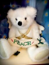 Mary Meyer Green Mountain Bear Angel Signed By Artist Carol Caring