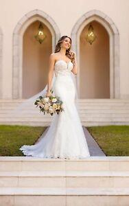 Wedding Dress by Stella York Style 6867