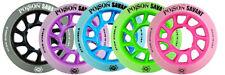 Atom Poison Savant Skate Wheels Blue Set of 8
