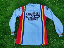 Maillot cycliste LEJEUNE vintage 70s trikot shirt cycle collection eroica