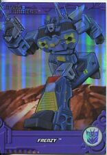 Transformers Optimum Generation 1 Foil Chase Card TF13 Frenzy