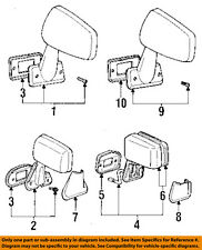 TOYOTA OEM 87-88 Pickup Door Side Rear View Mirror-Assy Left 8794089137