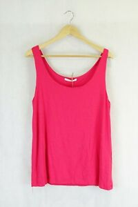 Jane Lamerton Sleeveless Pink Top S by Reluv Clothing