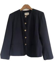 Skirtmaster Petites Blue Work Jacket Size 12