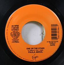 80'S / Pop Nm! 45 Paula Abdul - One Or The Other / Cold Hearted On Virgin