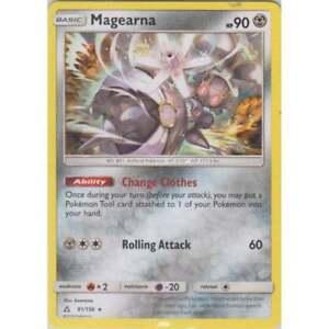 MAGEARNA 91/156 SM ULTRA PRISM POKEMON RARE CARD NEW MINT