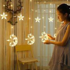 Eid Al Adha Moon Star LED Light String Xmas Fairy Merry Christmas Home Decor
