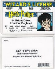 WIZARD LICENSE of Harry Potter London England Drivers License FAKE ID