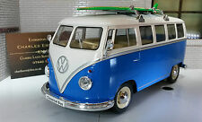 VW Bay T1 Split Screen Surfing Camper Welly 1:24 Scale Diecast Detailed Model