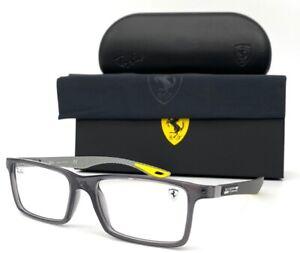 Ray Ban Ferrari  RX8901M F636 Transparent Grey  55mm Eyeglasses