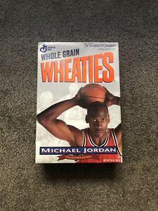 Vintage Michael Jordan Silver Wheaties Cereal RARE UNOPENED