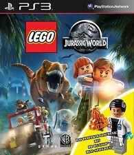 PS3 Spiel LEGO Jurassic World  - Special Edition mit Dr. Wu Figur NEUWARE