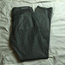 ROCK & REPUBLIC Berlin Skinny Leg Coated Pants Jeans Womens Size 16M Glitter