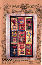 Roostin' Roosters ~ Quilt Quilting Pattern by Meme's Quilts MQ134