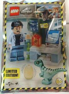 Lego Jurassic World - Dr. Wu's Laboratory - Foil Pack 122112 jw068 - New Sealed