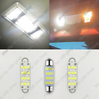 3x White LED Interior Map Dome Lights Bulbs for 88-98 Chevy Silverado GMC Sierra