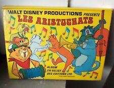 "Album en relief ""POP-UP""de Walt Disney les aristochats TBE"