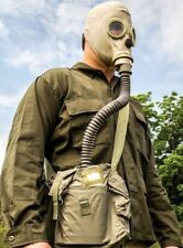 * Polish Military Surplus Army Mp3 Gas Mask With Accessories And Carry Bag