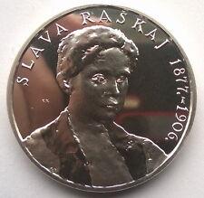 Croatia 2000 Zlava Raskaj 200 Kuna 1oz Silver Coin,Proof
