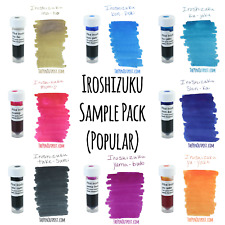 Iroshizuku 8 Ink 3ml Sample Pack - includes popular and unusual colors!