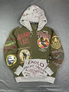 Polo Ralph Lauren Polo Sportsman Hoodie Sweatshirt Indian Country Outdoors XXL