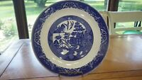 "Blue Willow Chop Plate Royal Ware Willow ware 12 "" Chop Plate Excellent conditio"