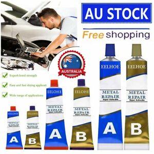 Industrial HEAT Resistance Cold Weld Auto Metal Repair Paste Adhesive Gel A&B