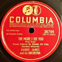 Harry James And His Orch   The More I See You / I Wish I Knew   Columbia EP 1945