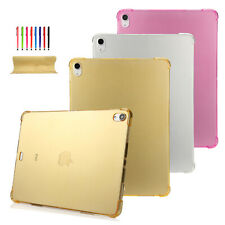 "Ultra Thin TPU Shockproof Protective Case Cover For iPad mini 1 2 3/pro 9.7""/11"