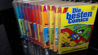 "COMICS ""DISNEYS BESTE COMICS"" Ehapa 1988  Band 1 - 12 komplett  Z1  Z2"