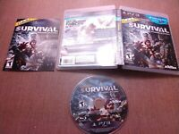 Sony PlayStation 3 PS3 CIB Complete Tested Cabela's Survival Shadows of Katmai