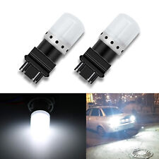 G4 AUTOMOTIVE 2x 3157 4114 LED Bulbs Bright Backup Turn Signal Light 6000K White