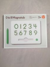 0-9 Number Magnatab by Kid O   Educational Toy Reading NEW